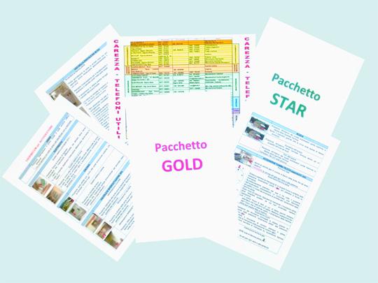 prezzi pacchetto GOLD